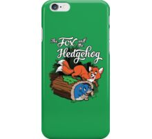 The Fox and the Hedgehog  iPhone Case/Skin