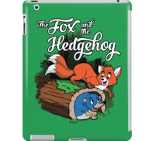 The Fox and the Hedgehog  iPad Case/Skin