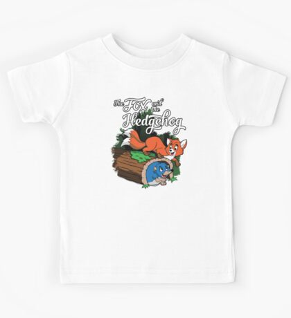 The Fox and the Hedgehog  Kids Tee