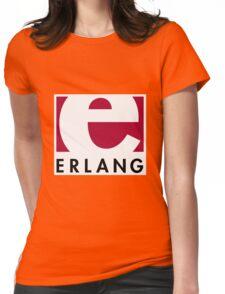 Erlang programming language logo Womens Fitted T-Shirt