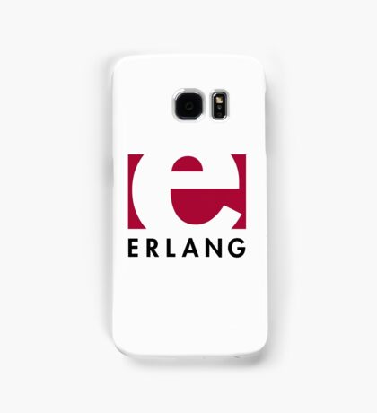Erlang programming language logo Samsung Galaxy Case/Skin