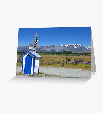 New Zealand Landscape 10 Greeting Card