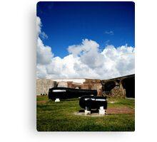 The Big Guns of Fort Sumter Canvas Print