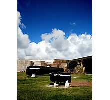 The Big Guns of Fort Sumter Photographic Print