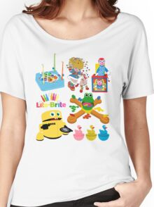 90s Nostalgia Toys Women's Relaxed Fit T-Shirt