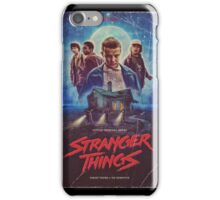 stranger things tv  iPhone Case/Skin