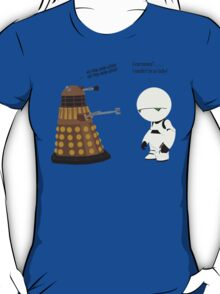 Dalek and Marvin mashup T-Shirt