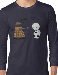 Dalek and Marvin mashup Long Sleeve T-Shirt