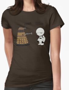 Dalek and Marvin mashup Womens Fitted T-Shirt