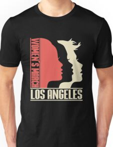 Womens March on Los Angeles Unisex T-Shirt
