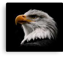 Proud Eagle Canvas Print