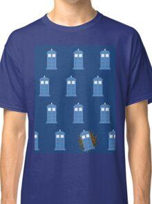 glitter tardis Classic T-Shirt