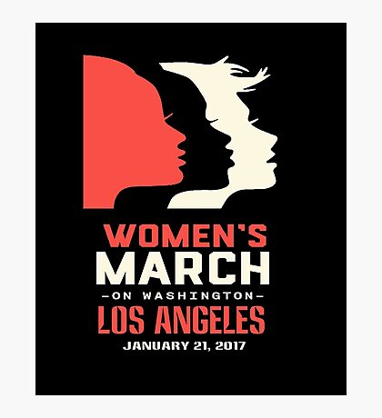 Womens March On Los Angeles Photographic Print
