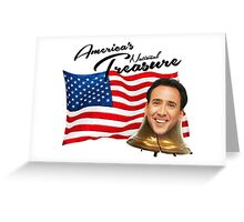 nicolas cage Greeting Card