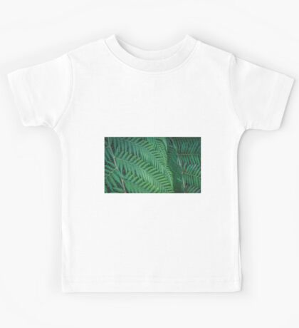 Tree Fern Symmetry Kids Tee