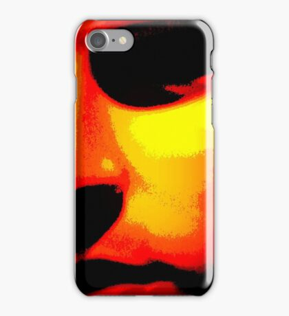 Abstract Male Face iPhone Case/Skin