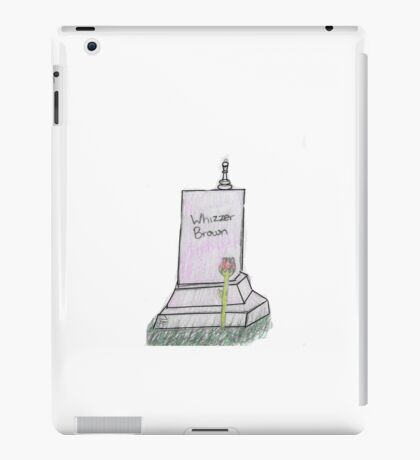 Whizzer Falsettos Grave iPad Case/Skin