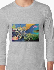 Ocean Flower Long Sleeve T-Shirt