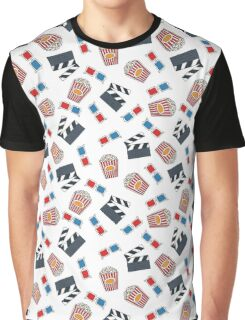 movie and cinema pattern Graphic T-Shirt