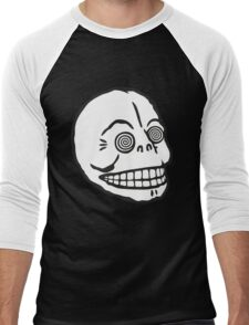 "Cheap Monday's ""Hypno Skull Cap"" (white) Men's Baseball ¾ T-Shirt"