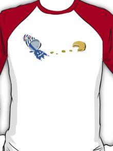 Retro Gaming Session -Pac burger- T-Shirt