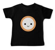 Salmon Maki Sushi Roll Emoji Shock and Surprise Baby Tee