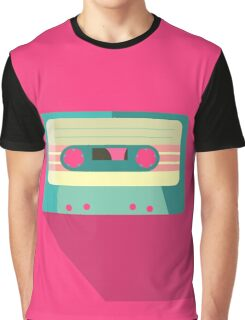 Retro Mixtape Graphic T-Shirt