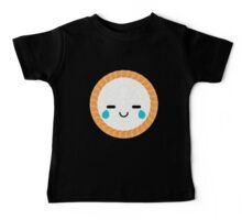 Salmon Maki Sushi Roll Emoji Teary Eye of Joy Baby Tee