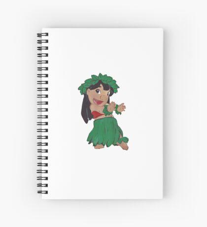 Hula Lilo Spiral Notebook