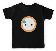 Salmon Maki Sushi Roll Emoji Speechless with Sweat Kids Tee