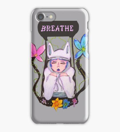 Just Breathe iPhone Case/Skin