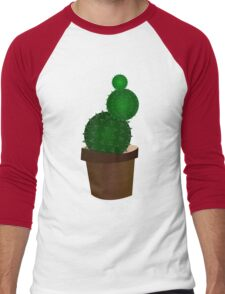 Succulent Men's Baseball ¾ T-Shirt