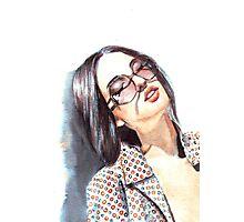 Fashion Illustration: fabric Photographic Print