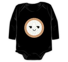 Salmon Maki Sushi Roll Emoji Cheeky and Up to Something One Piece - Long Sleeve