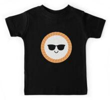 Salmon Maki Sushi Roll Emoji Cool Sunglasses Kids Tee
