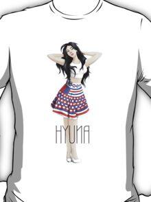 Hyuna's Red T-Shirt