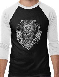Flames of a Lion Men's Baseball ¾ T-Shirt