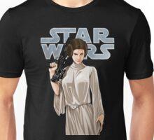 Carrie Fisher - Princess Leia - Star Wars Unisex T-Shirt