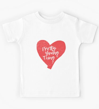 Pretty Young Thing Heart Kids Tee
