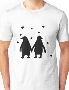 Penguins In Love - Love Each Other Penguins- penguin shirt Unisex T-Shirt