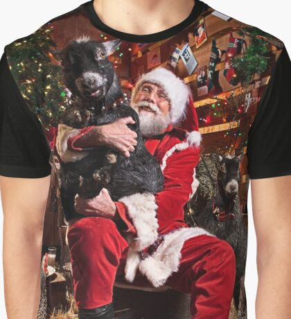 Santa promises Ruthie a SeaDoo! Graphic T-Shirt
