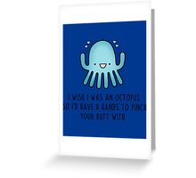 Octopus Love Greeting Card