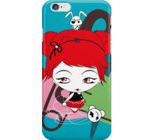 Punk and cute girl and friends iPhone Case/Skin