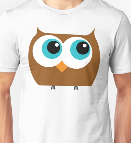 Cartoon Owl Unisex T-Shirt