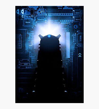 Dalek-tronic Photographic Print