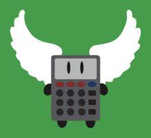 Angel Calculator One Piece - Short Sleeve