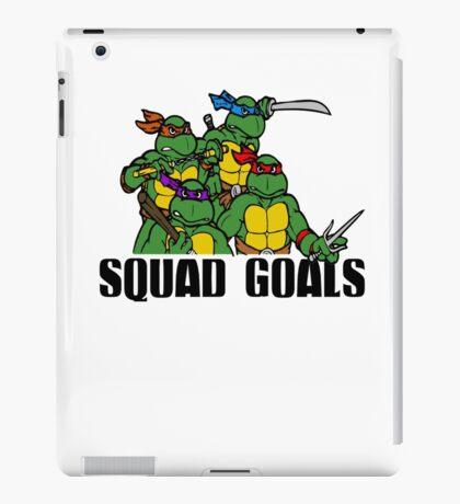 Funny Squad Goals iPad Case/Skin