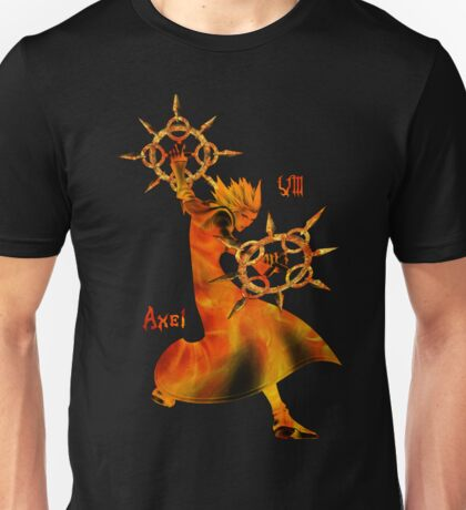 The Flurry of Dancing Flames Unisex T-Shirt