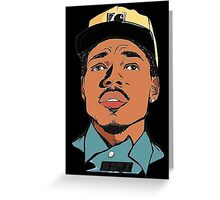 Change The Rapper Greeting Card