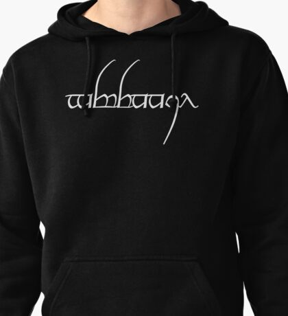 Typography #14 Pullover Hoodie